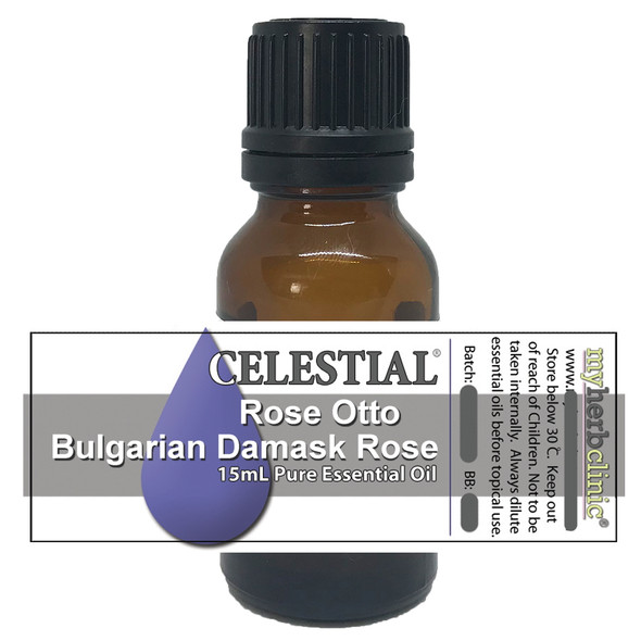 CELESTIAL ® ROSE OTTO THERAPEUTIC GRADE ESSENTIAL OIL - BULGARIAN DAMASK ROSE