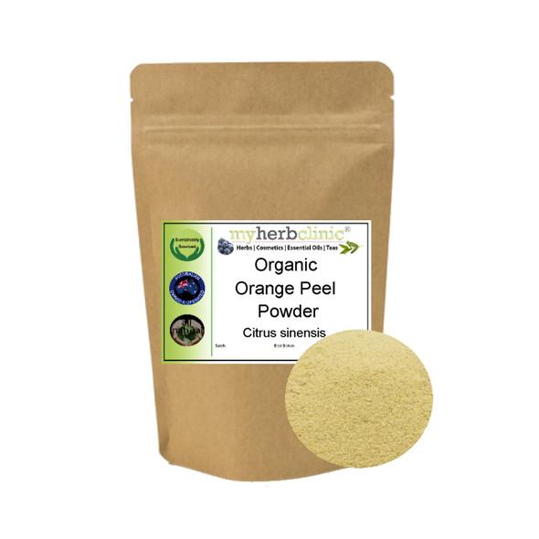 MY HERB CLINIC ®  ORANGE PEEL POWDER ORGANIC - Citrus sinensis
