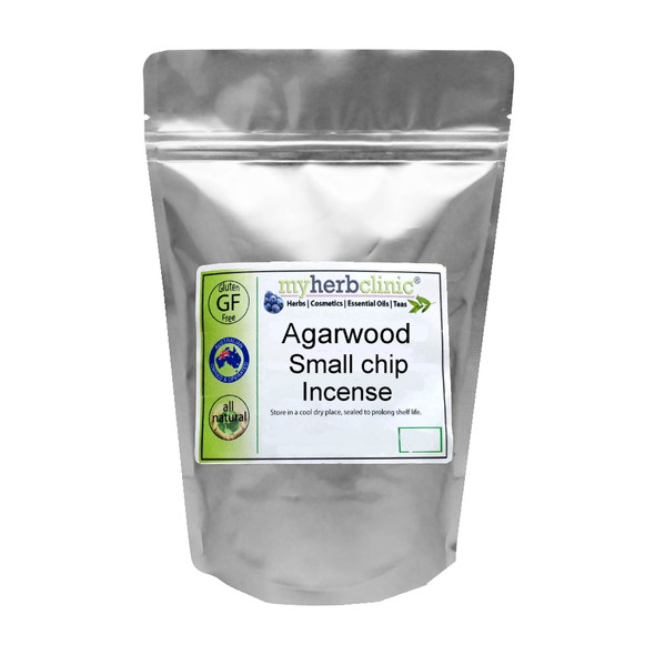 MY HERB CLINIC ® AUSTRALIAN AGARWOOD AGAR CHIPS INCENSE MEDITATION PURIFICATION
