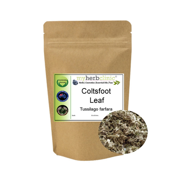 MY HERB CLINIC ® COLTSFOOT LEAF SMUDGE INCENSE Tussilago farfara - RELAXATION