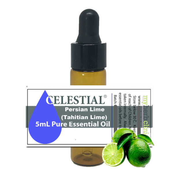 CELESTIAL ® PERSIAN LIME TAHITIAN LIME THERAPEUTIC GRADE ESSENTIAL OIL - UPLIFTING