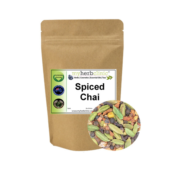 MY HERB CLINIC ® SPICED CHAI TEA HERBAL BLEND - PERFECT BLEND OF HERBS & SPICES