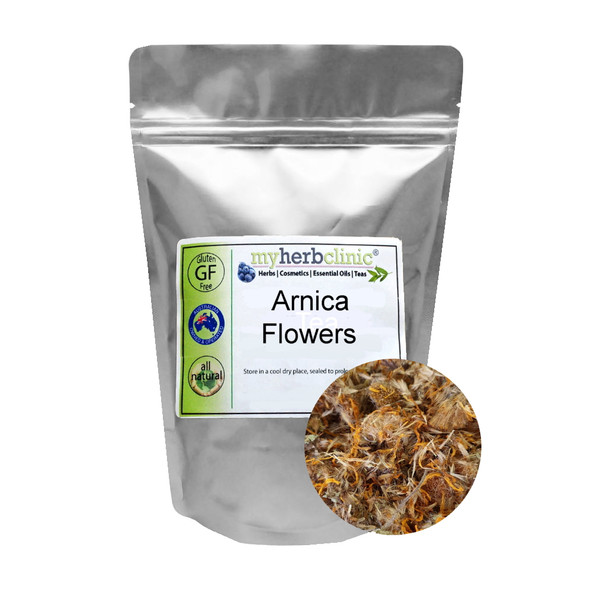MY HERB CLINIC ® ARNICA FLOWERS DRIED Arnica montana - BEST PREMIUM