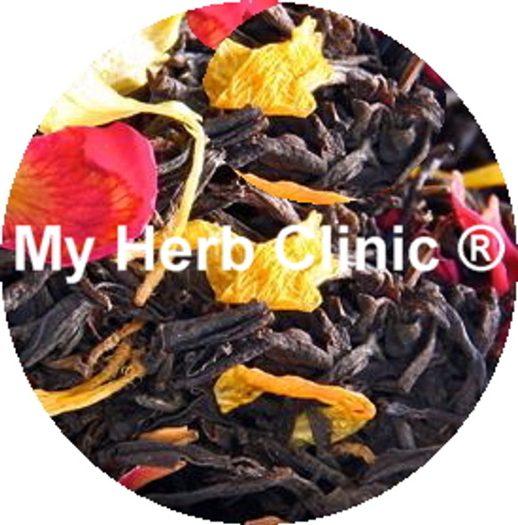 MY HERB CLINIC ® FRENCH EARL GREY TEA - A CLASSIC INFUSION TWIST - Aromatic Black