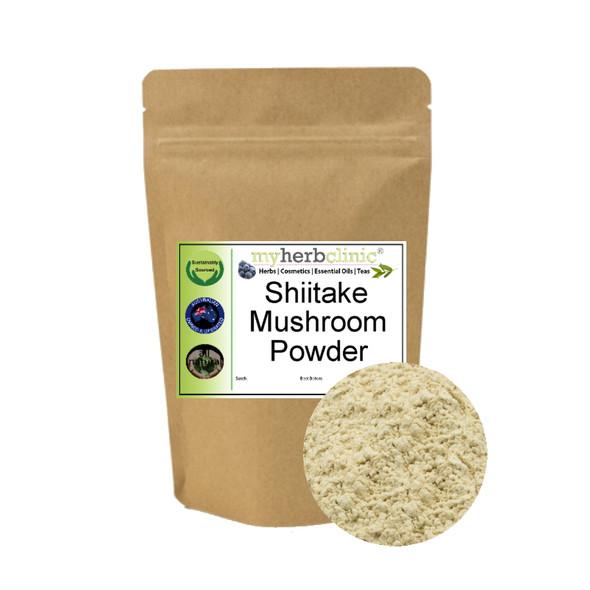 MY HERB CLINIC ® SHIITAKE MUSHROOM POWDER ~ SUPPORT IMMUNE