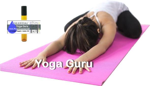 CELESTIAL ® YOGA GURU ROLL ON ESSENTIAL OIL - TO PERFECT & ENHANCE YOGA PRACTICE
