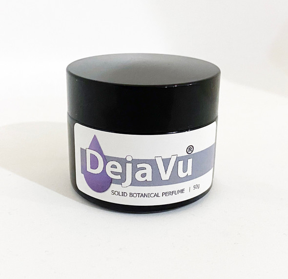 DejaVu® ILLUSION - SOLID BOTANICAL PERFUME 50g - ALL NATURAL - ESSENTIAL OILS