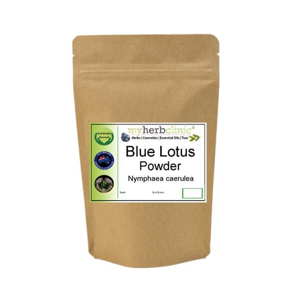 MY HERB CLINIC ® BLUE LOTUS ORGANIC WATERLILY POWDER Nymphaea Caerulea
