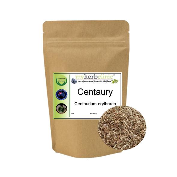 MY HERB CLINIC ® CENTAURY - BEST QUALITY DRIED HERB Centaurium erythraea