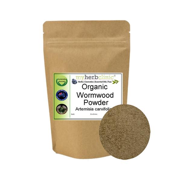 MY HERB CLINIC ® WORMWOOD ORGANIC POWDER BEST QUALITY Artemisia carvifolia