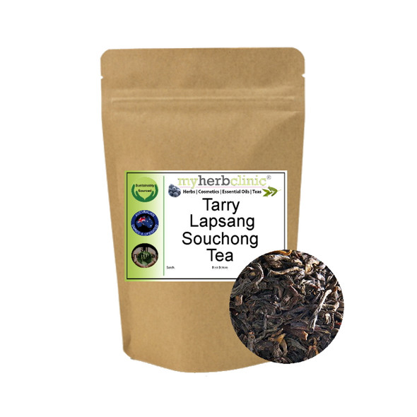 MY HERB CLINIC ® TARRY LAPSANG SOUCHONG CHINESE TRADITIONAL TEA ANTIOXIDANT