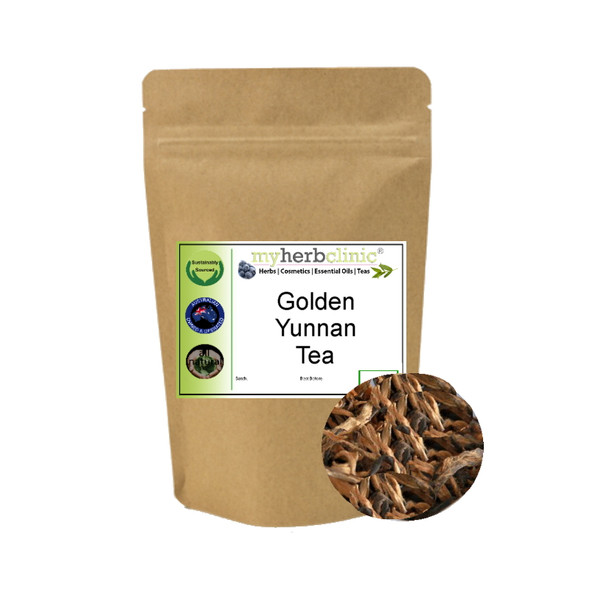 MY HERB CLINIC ®  GOLDEN YUNNAN CHINESE TRADITIONAL TEA ANTIOXIDANT
