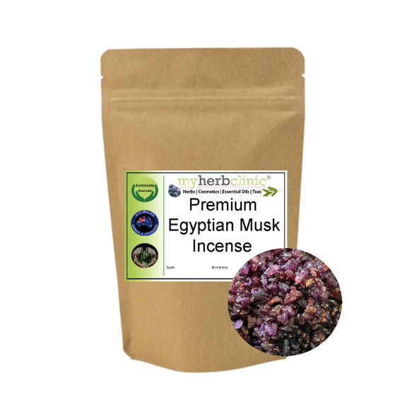MY HERB CLINIC ®  EGYPTIAN MUSK RESIN INCENSE - THE REAL DEAL
