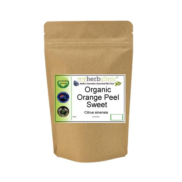MY HERB CLINIC ®  ORANGE PEEL SWEET ORGANIC - Citrus sinensis