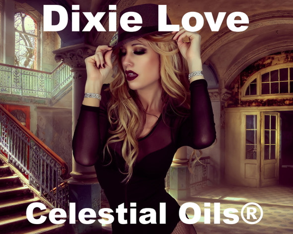 CELESTIAL ® DIXIE LOVE ORGANIC THERAPEUTIC GRADE ESSENTIAL OIL BLEND - APHRODISIAC MOOD ENHANCER