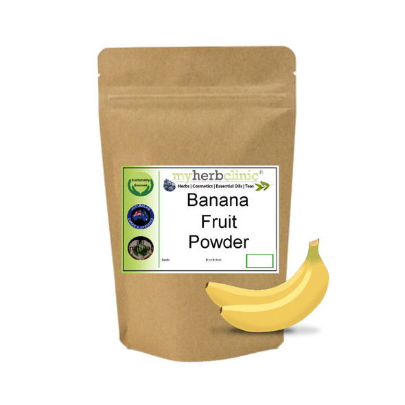 MY HERB CLINIC ® BANANA FRUIT POWDER - PREMIUM 1ST GRADE - SUPERFOOD SMOOTHIES