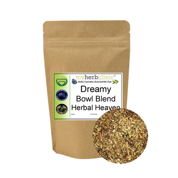 MY HERB CLINIC ® DREAMY BOWL BLEND - HERBAL HEAVEN - incense smudge