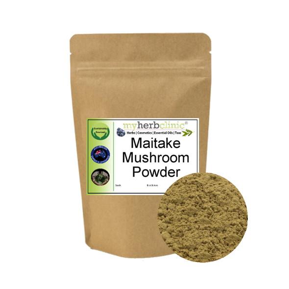 MY HERB CLINIC ® MAITAKE MUSHROOM POWDER ADAPTOGEN ~ IMMUNE BOOST 25gms