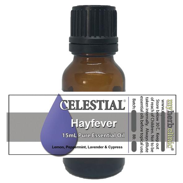 CELESTIAL ® HAYFEVER THERAPEUTIC GRADE PURE ESSENTIAL OIL BLEND ~ ALLERGY SINUS
