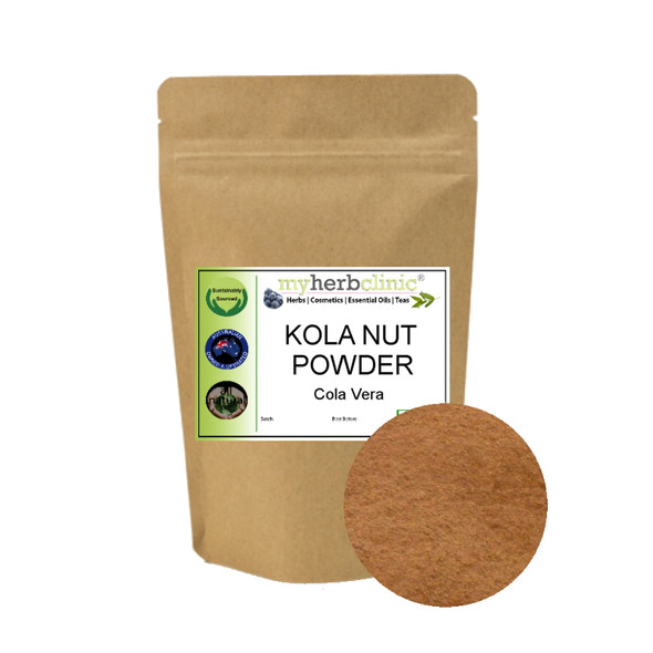 MY HERB CLINIC ® KOLA NUT POWDER - GURU NUT - Cola Vera MOOD ENHANCE