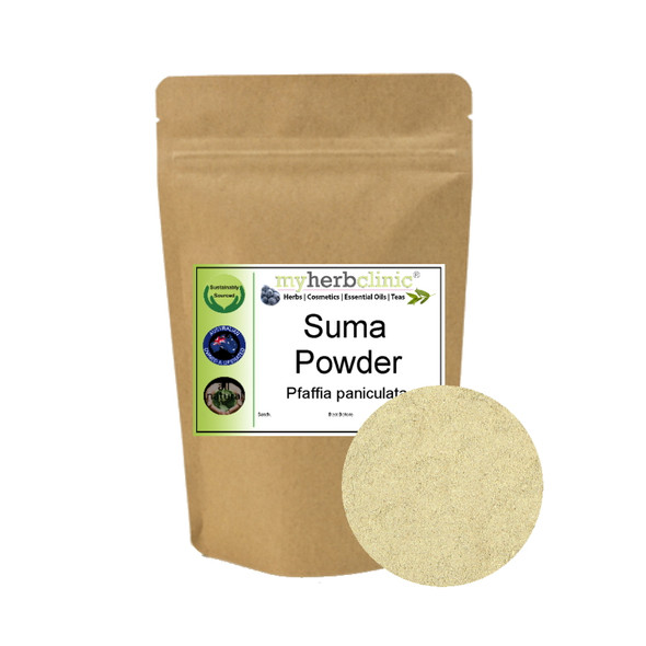 MY HERB CLINIC ® SUMA POWDER - BRAZILIAN GINSENG - AMAZON SUPER HERB - ADAPTOGEN TONIC