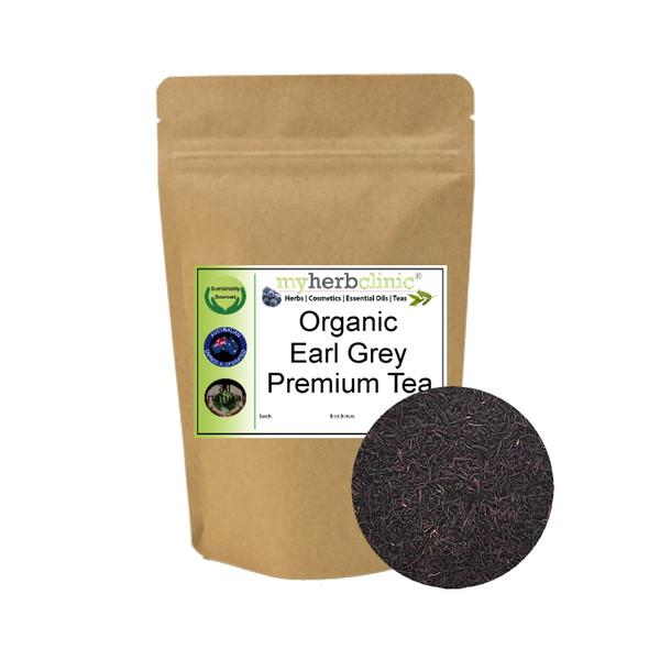 MY HERB CLINIC ® ORGANIC PREMIUM EARL GREY BLACK TEA FULL BODIED