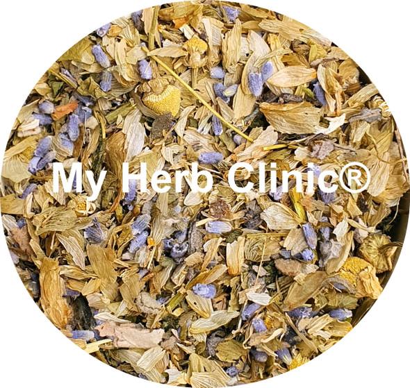 MY HERB CLINIC ® CLOUD WALKER PUFF HERBAL TEA ~ SLEEP WELL - PASSIONFLOWER MULLEIN HOPS
