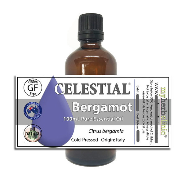 BERGAMOT THERAPEUTIC GRADE 100% ESSENTIAL OIL