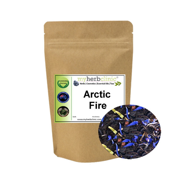 MY HERB CLINIC ® ARCTIC FIRE TEA BLEND NATUROPATHICALLY PREPARED - YUM