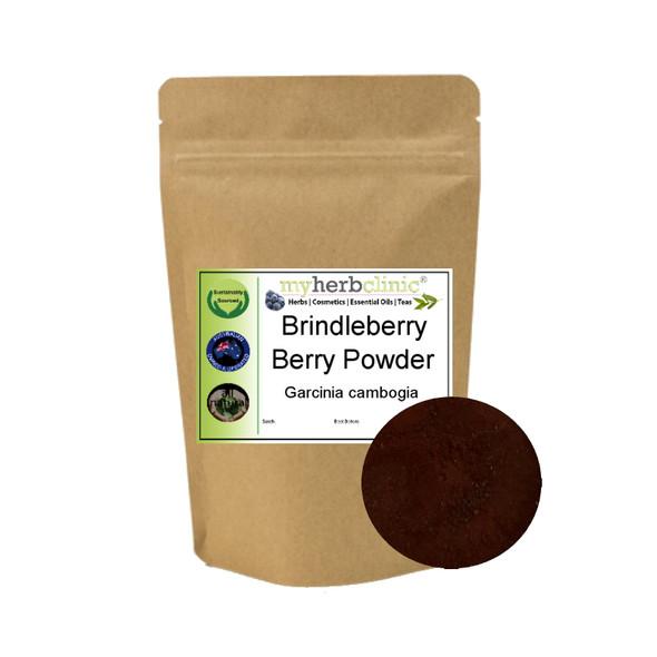 MY HERB CLINIC ® BRINDLE BERRY BRINDLEBERRY GARCINIA CAMBOGIA ORGANIC POWDER