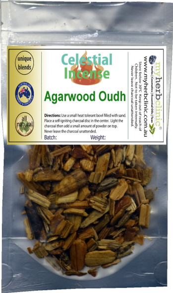 AGARWOOD WOOD CHIPS PREMIUM INCENSE ~ 25g ALL NATURAL GIFT FROM THE EARTH