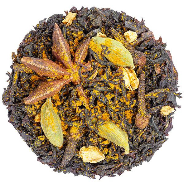 MY HERB CLINIC ® TURMERIC CHAI NATUROPATHICALLY PREPARED TEA BALANCE REFRESHING