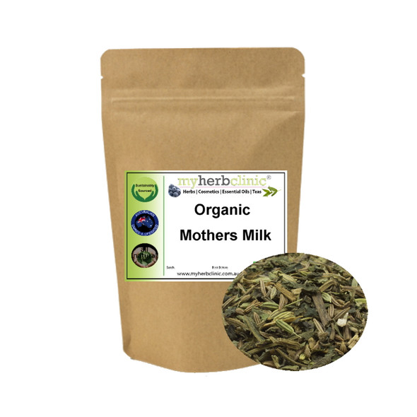 MOTHERS MILK ORGANIC TEA BLEND~ NETTLE CARAWAY FENNEL ANISEED ~ MUM & BABY