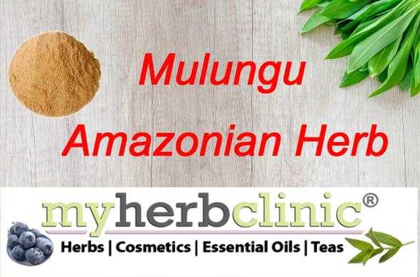 MY HERB CLINIC ® MULUNGU POWDER - AMAZON RAINFOREST HERB - SLEEP LIKE A BABY