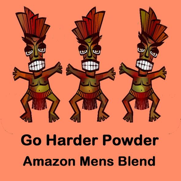 MY HERB CLINIC ® GO HARDER POWDER BLEND ~ AMAZON APHRODISIAC ~ MENS BLEND LIBIDO