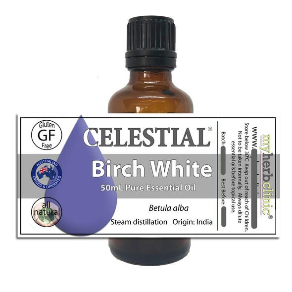 BIRCH SILVER WHITE THERAPEUTIC GRADE ESSENTIAL OIL PAIN ARTHRITIS - Betula alba