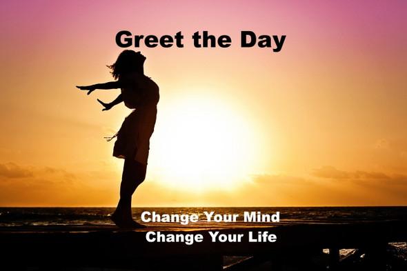 GREET THE DAY ISOCHRONIC BRAINWAVE SYNCHRONISATION MEDITATION BE HAPPY JOYFUL