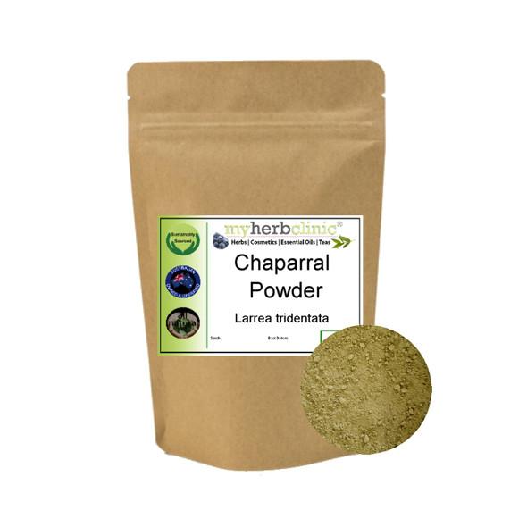 MY HERB CLINIC ®  CHAPARRAL POWDER - PREMIUM 1ST GRADE - BEST QUALITY