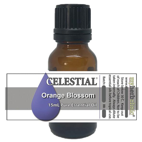 CELESTIAL ® ORANGE BLOSSOM THERAPEUTIC GRADE ESSENTIAL OIL - STRESS INSOMNIA