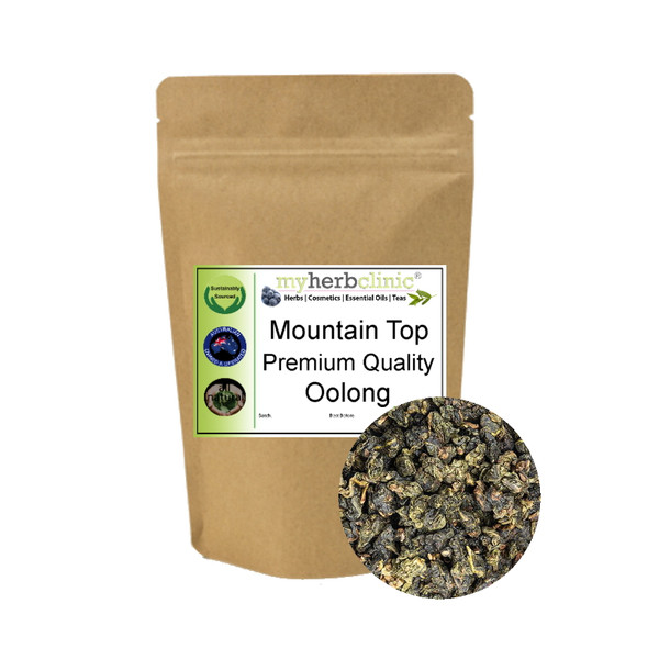 MY HERB CLINIC ® MOUNTAIN TOP DRAGON PEARL OOLONG TEA ANTIOXIDANT FORMOSA