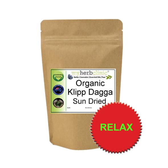MY HERB CLINIC ® KLIPP DAGGA KLIP SUN DRIED ORGANIC TEA - CALMING RELAXING MELLOW