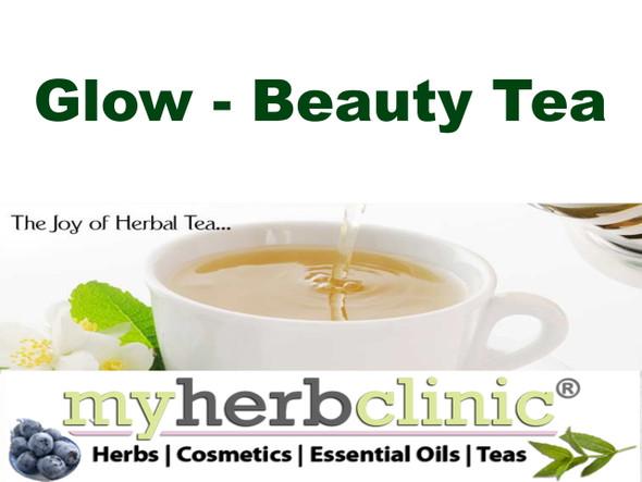 MY HERB CLINIC ® GLOW BEAUTY - RADIANT BEAUTIFUL SKIN TEA HERBAL - DETOX ENERGY