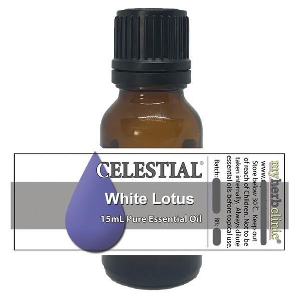 CELESTIAL ® WHITE LOTUS FLOWER ESSENTIAL OIL - APHRODISIAC Nelumbo nucifera - DIVINE
