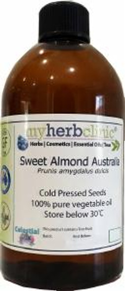 ALMOND SWEET OIL 1ST COLD PRESSED PREMIUM GRADE - ALL SKIN TYPES