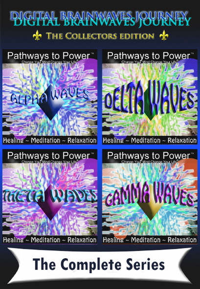 ALPHA GAMMA THETA DELTA WAVE COLLECTION BRAINWAVE MIND JOURNEY OF TRANSFORMATION