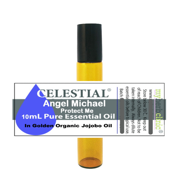 ANGEL MICHAEL PROTECT ME OIL ROLL ON ESSENTIAL OIL - REMOVE NEGATIVE ENERGIES