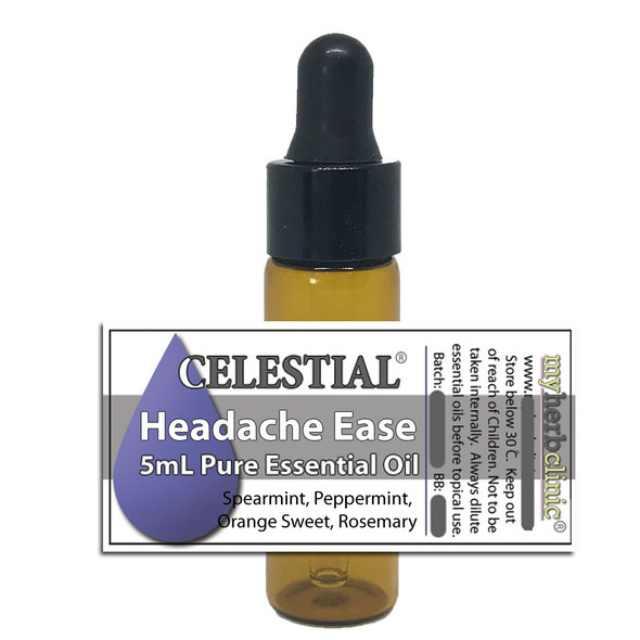 HEADACHE EASE ESSENTIAL OIL BLEND ~ ALL NATURAL ~ Great to diffuse
