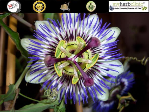 MY HERB CLINIC ® PASSIONFLOWER ORGANIC POWDER RELAX TRANCE PASSION SLEEP TEA