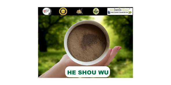 FO TI FOTI ROOT POWDER - ORGANIC - HE SHOU WU - PREPARED - SKIN YOUTH ENERGY
