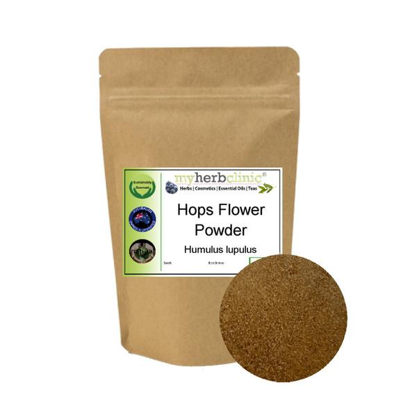 MY HERB CLINIC ® HOPS FLOWER POWDER PREMIUM GRADE STRESS ANXIETY INSOMNIA SLEEP